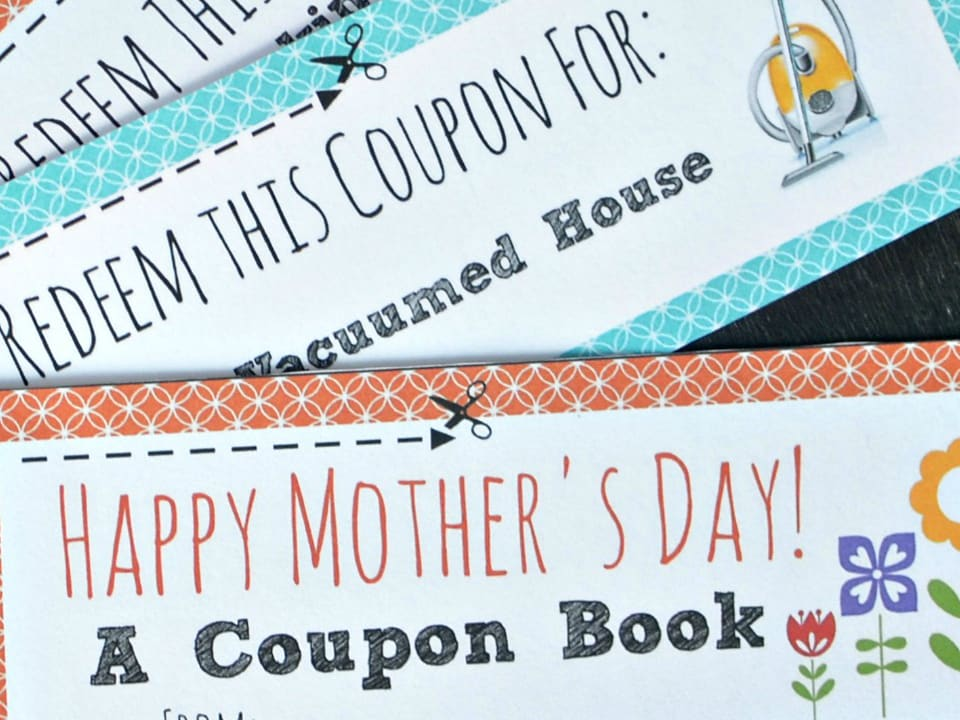 DIY Voucher Book for Mother's Day