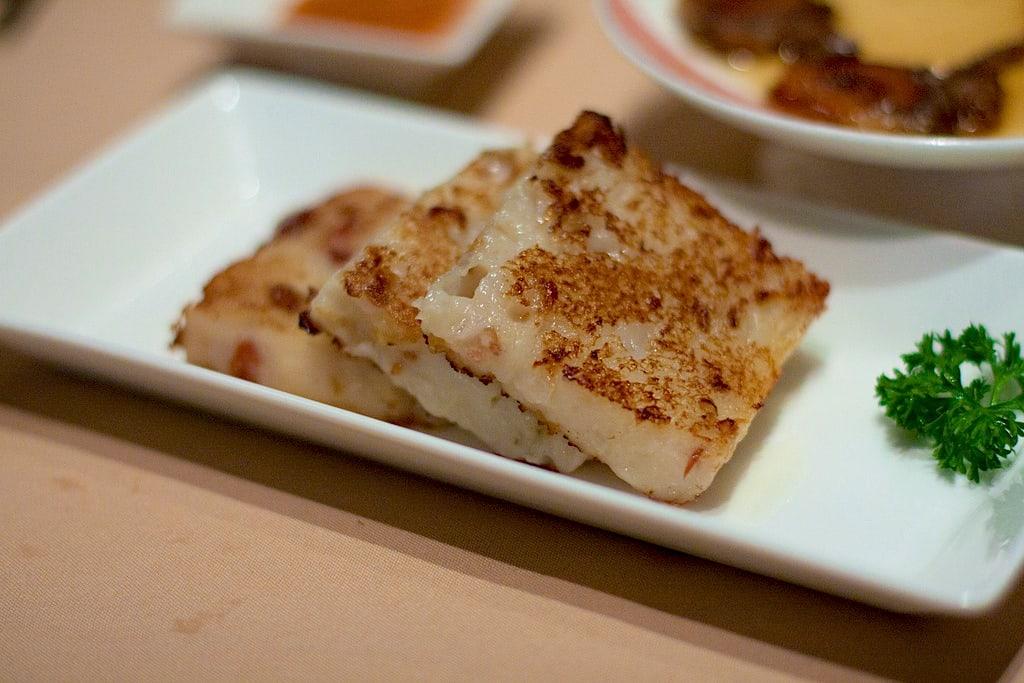 Turnip Cake Dim Sum