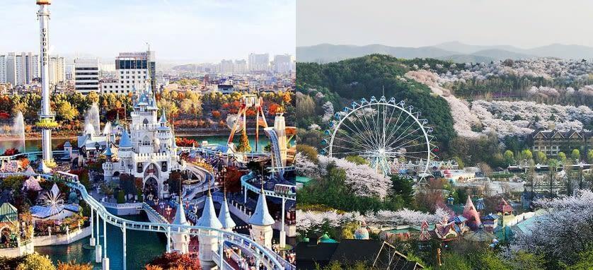 Lotte World or Everland