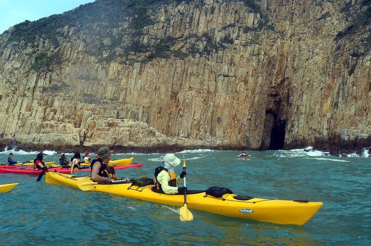 Sai Kung Geopark Kayaking
