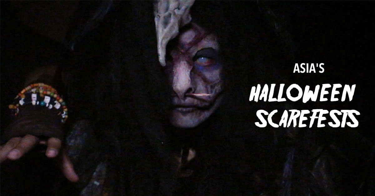Scare Yourselves Silly At These Horrific Halloween Scarefests