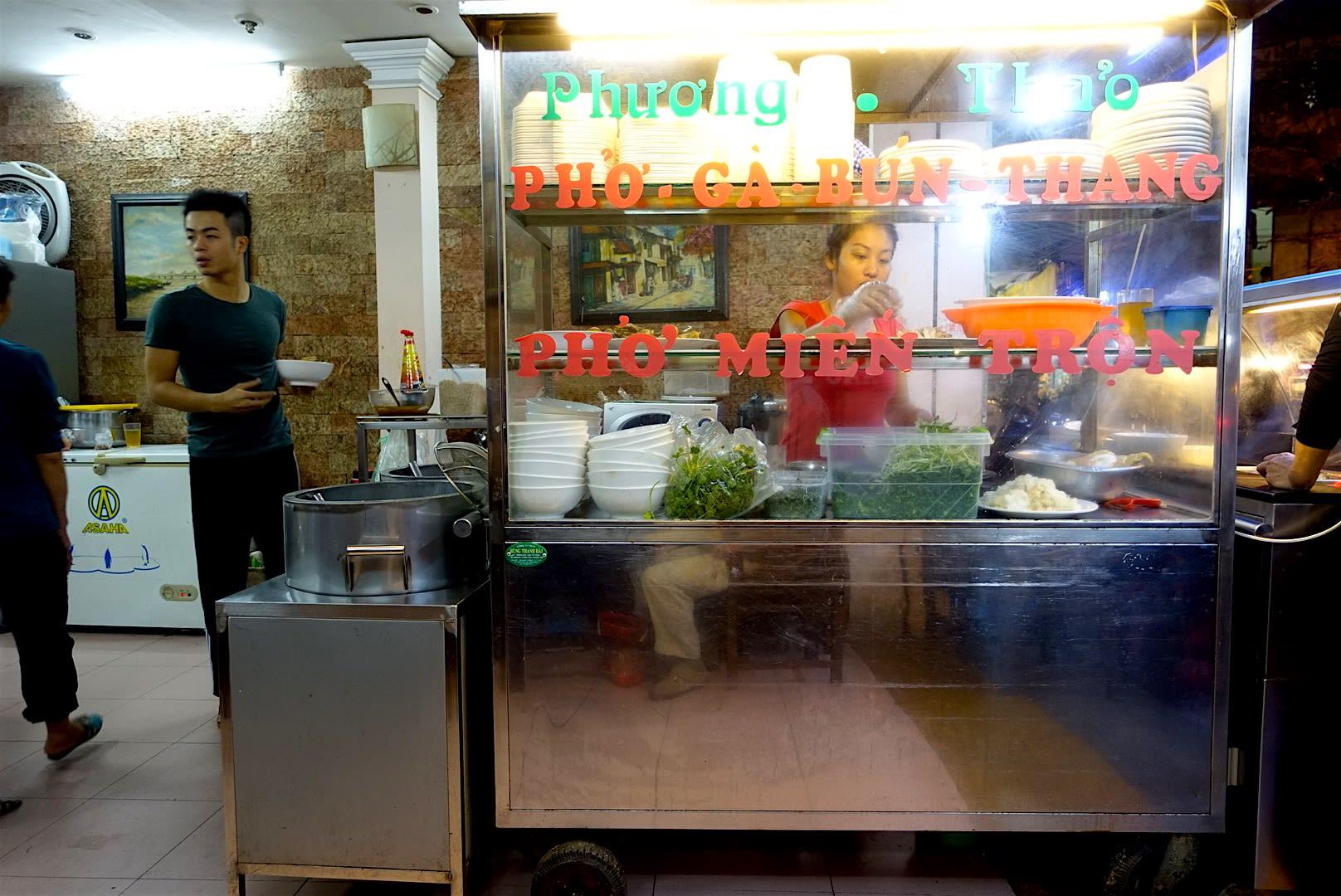 pho restaurant hanoi