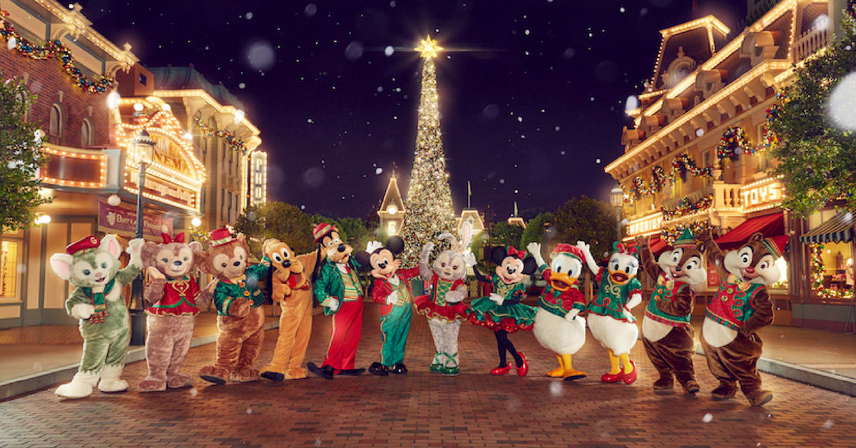 Christmas In Disneyland Hong Kong.The Most Magical Christmas Awaits At Hong Kong Disneyland