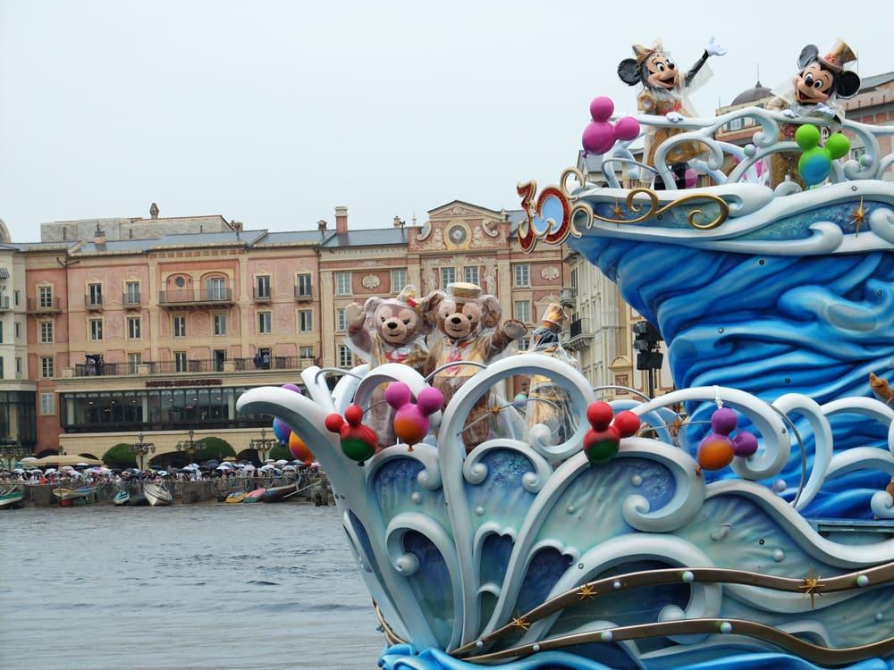 DisneySea parades