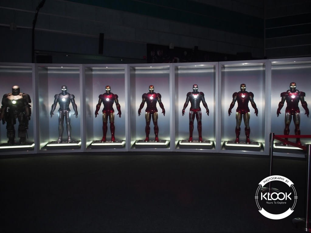 Ironman's MK 1-7 suits