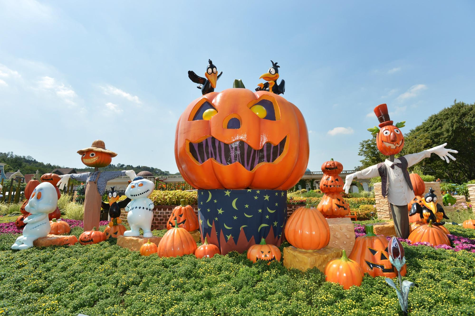 Halloween special at Everland Theme Park