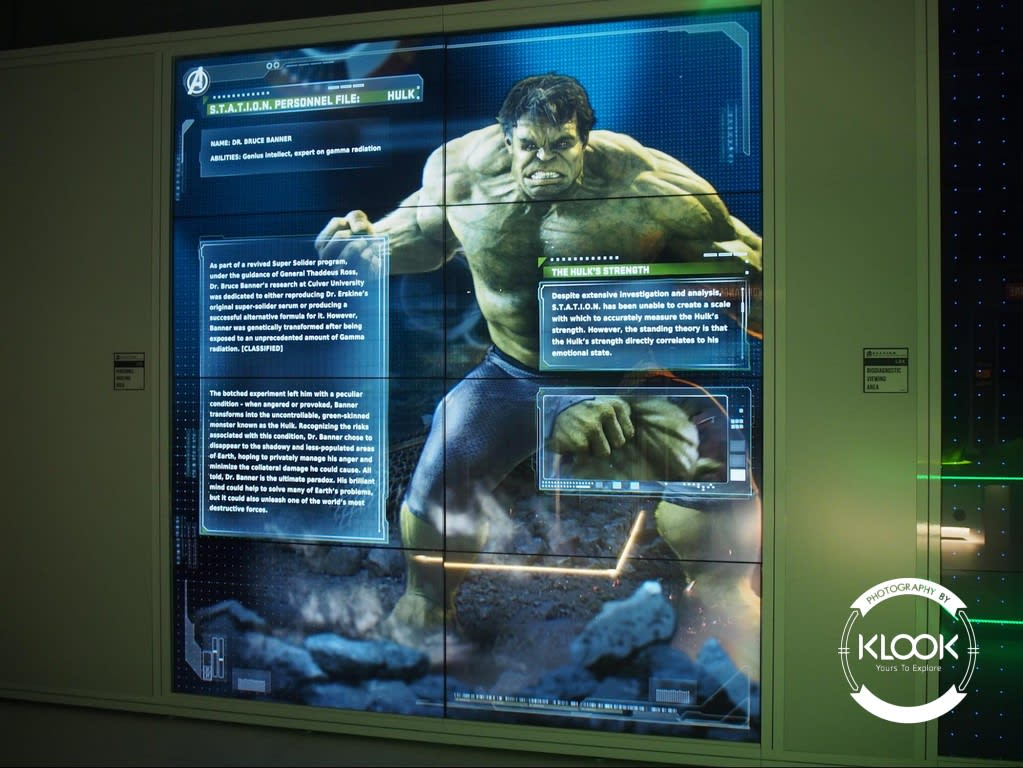 Information files at the Hulk area