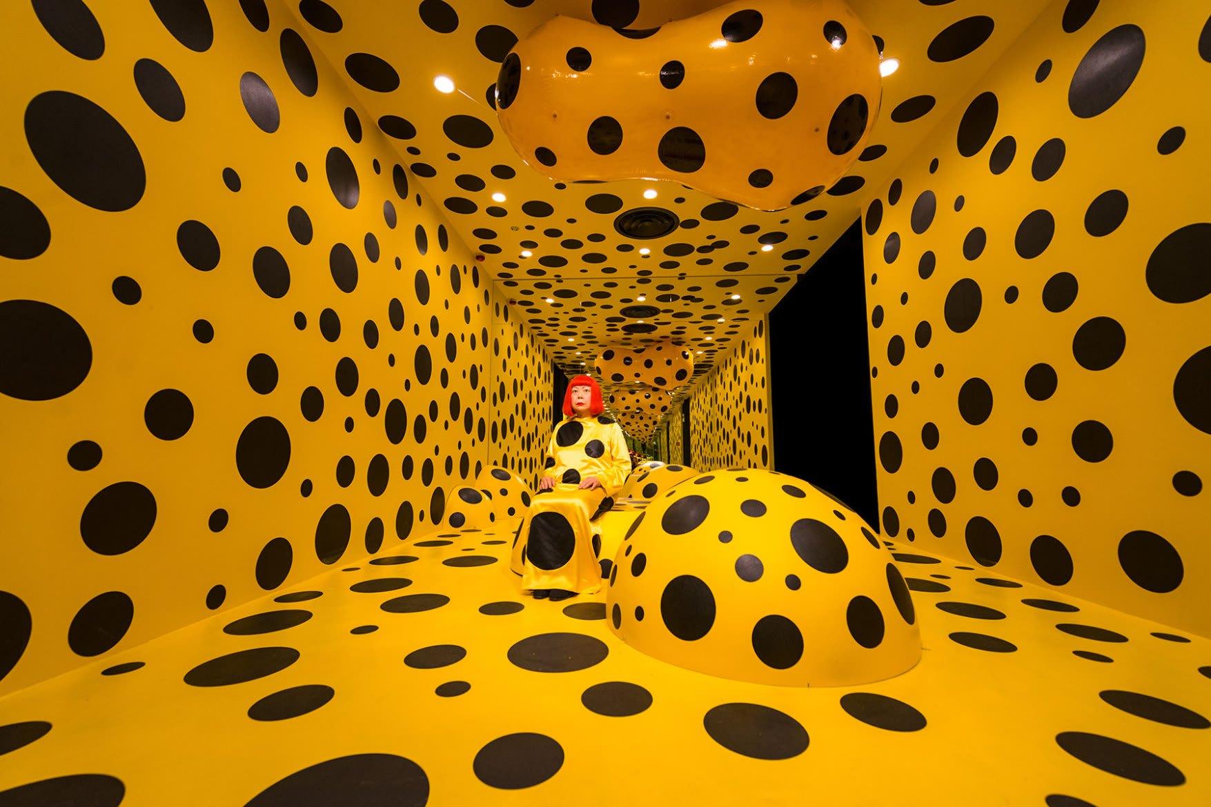 Yayoi Kusama gallery.