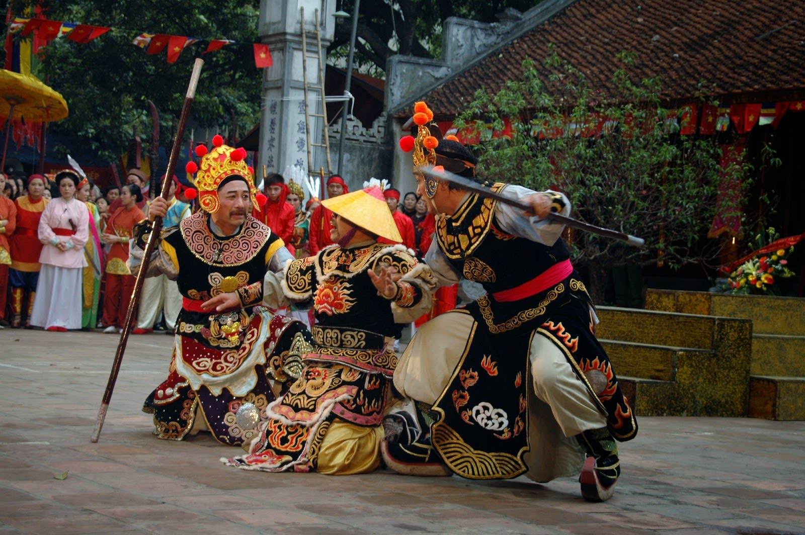 Dong Nhan Village festival in Vietnam