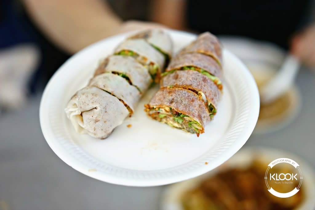 Popiah at Lau Pa Sat