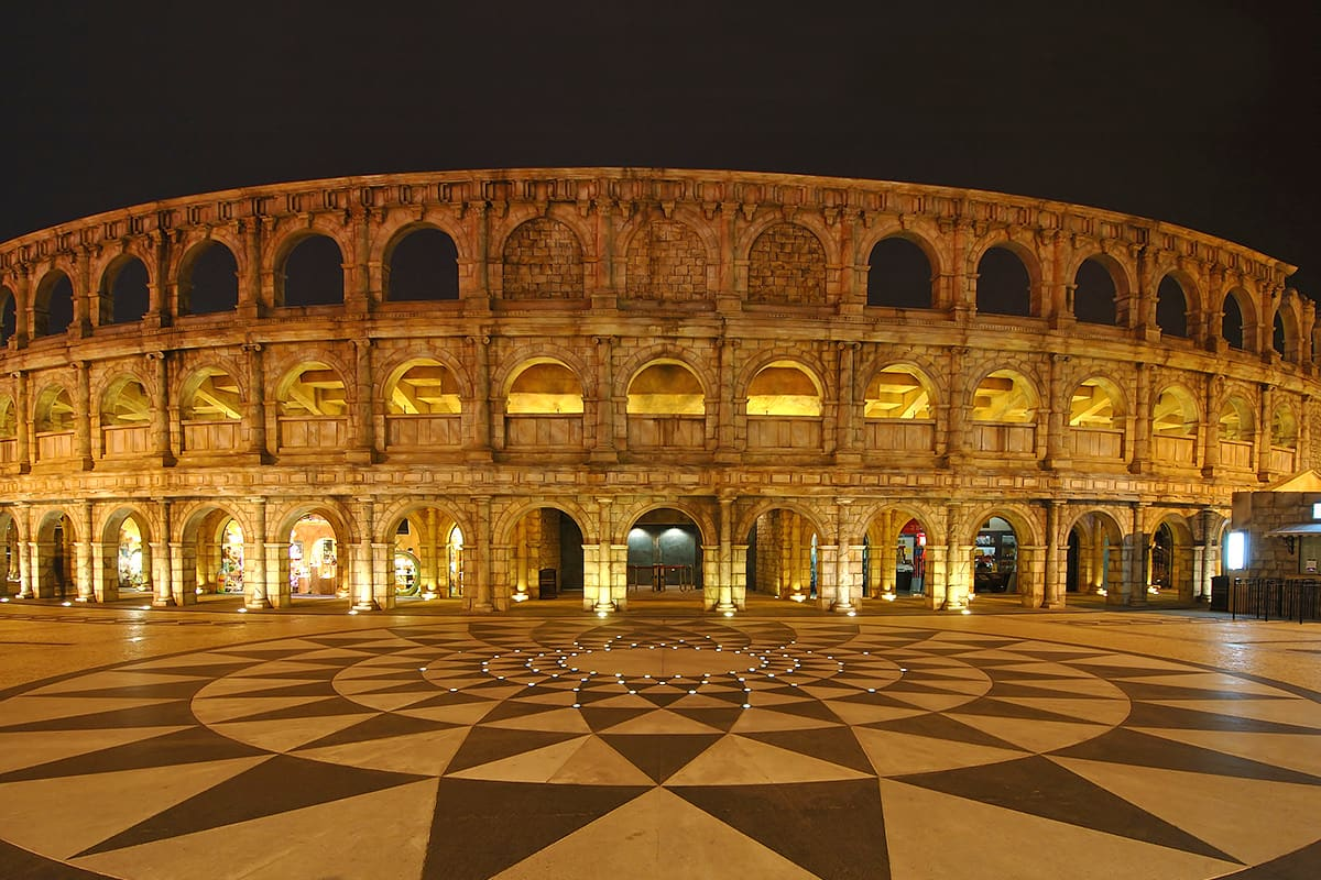Fisherman's Wrarf Colloseum