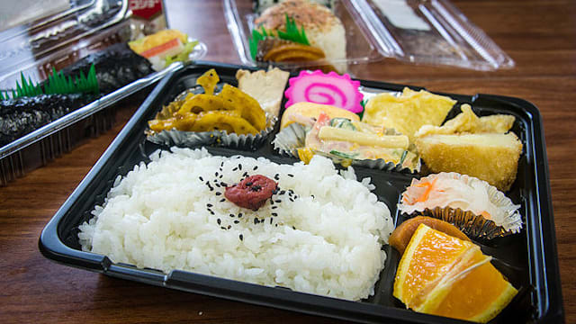 Bento Set from 7-Eleven Japan