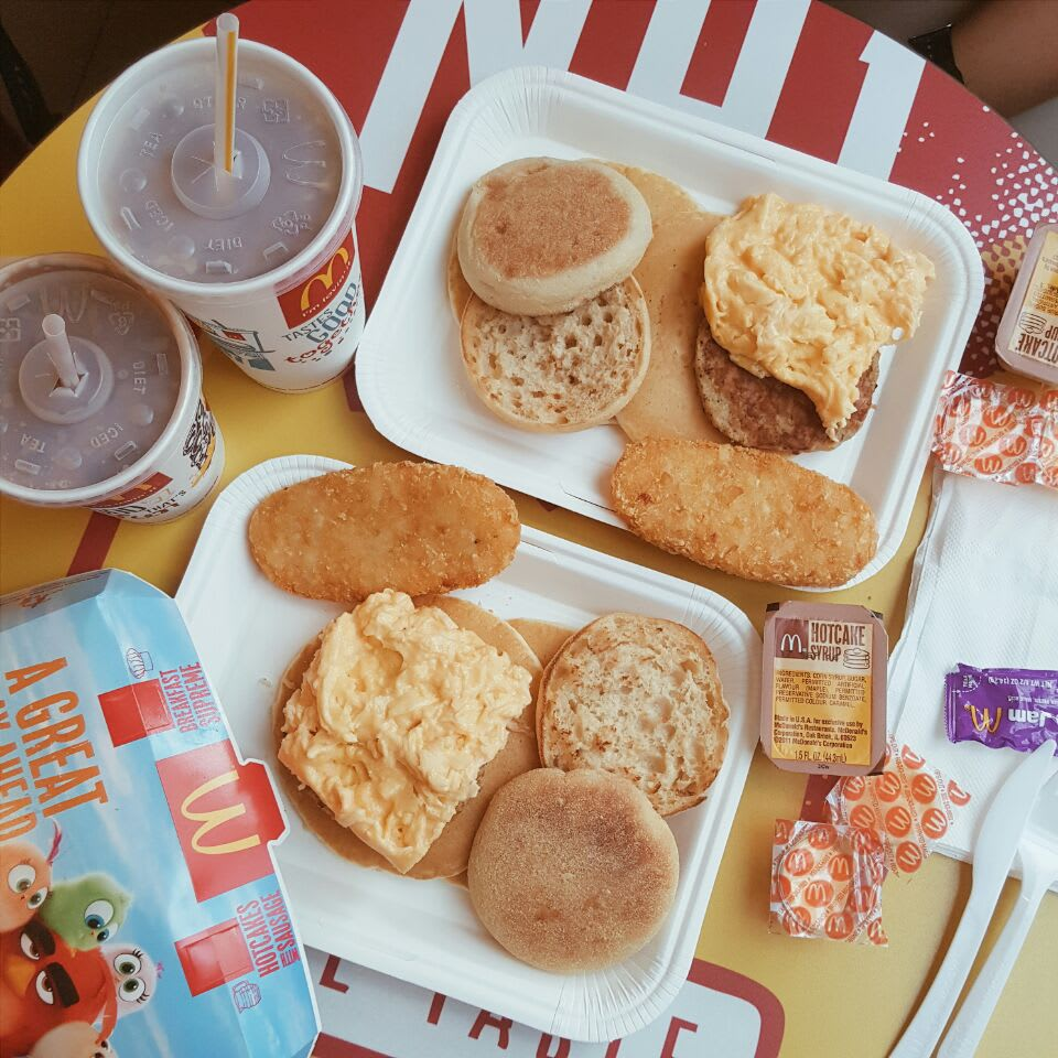 Macdonalds breakfast