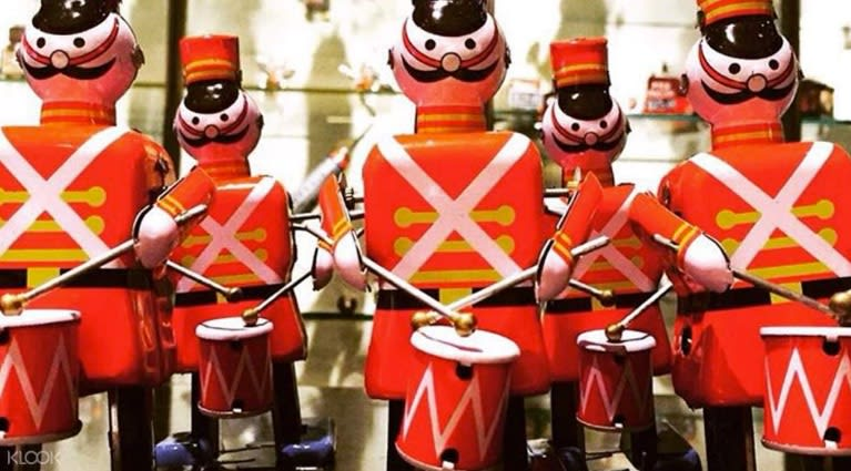 Toy soldiers at the MINT Museum of Toys