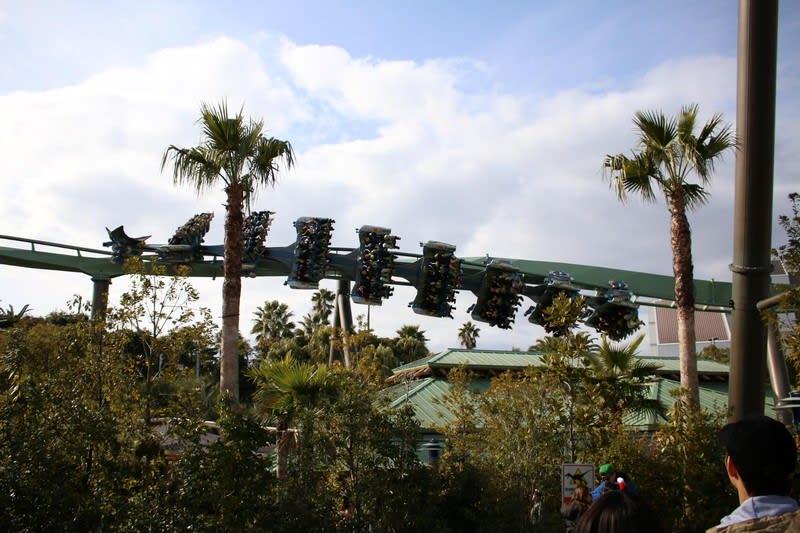 Flying Dinosaur at Universal Studios Japan
