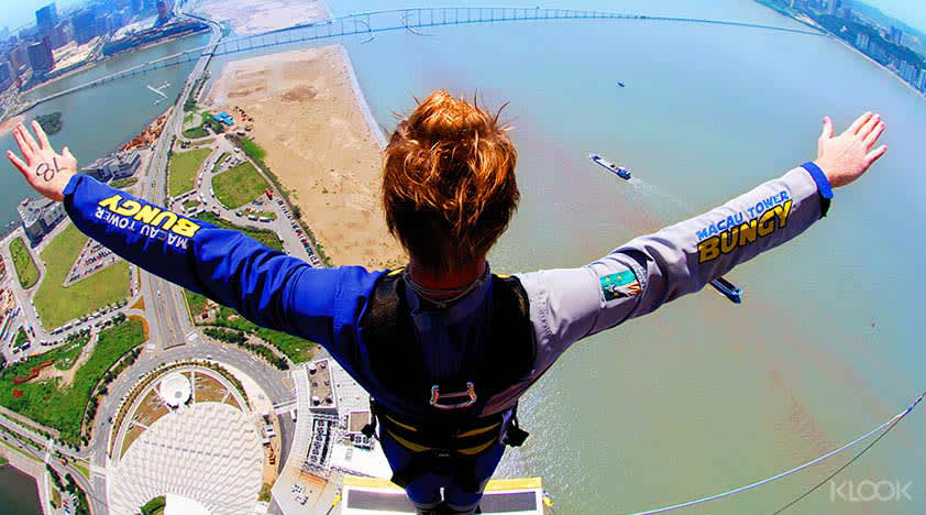 Macau Tower Bungy