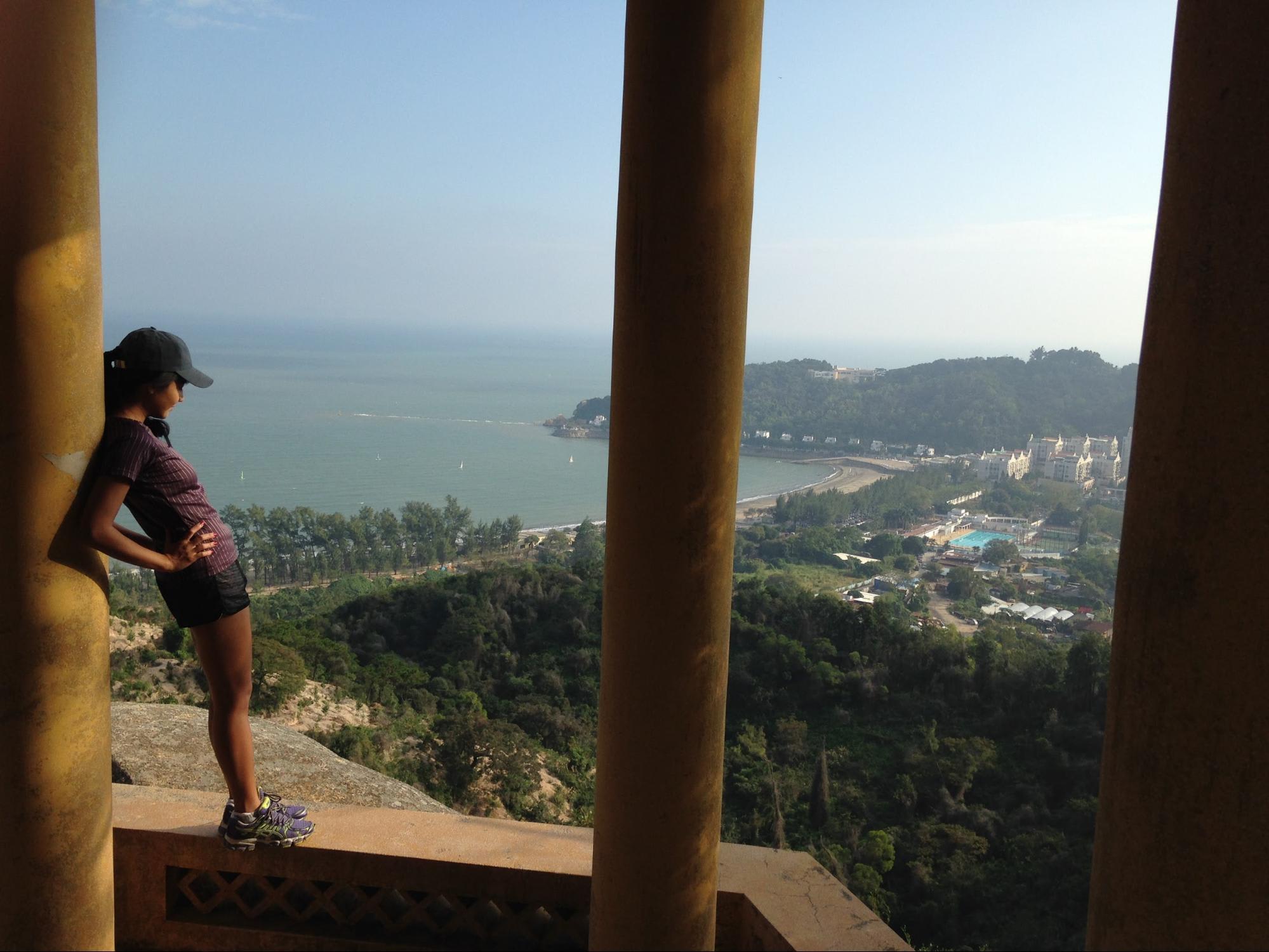 HIking in Macau