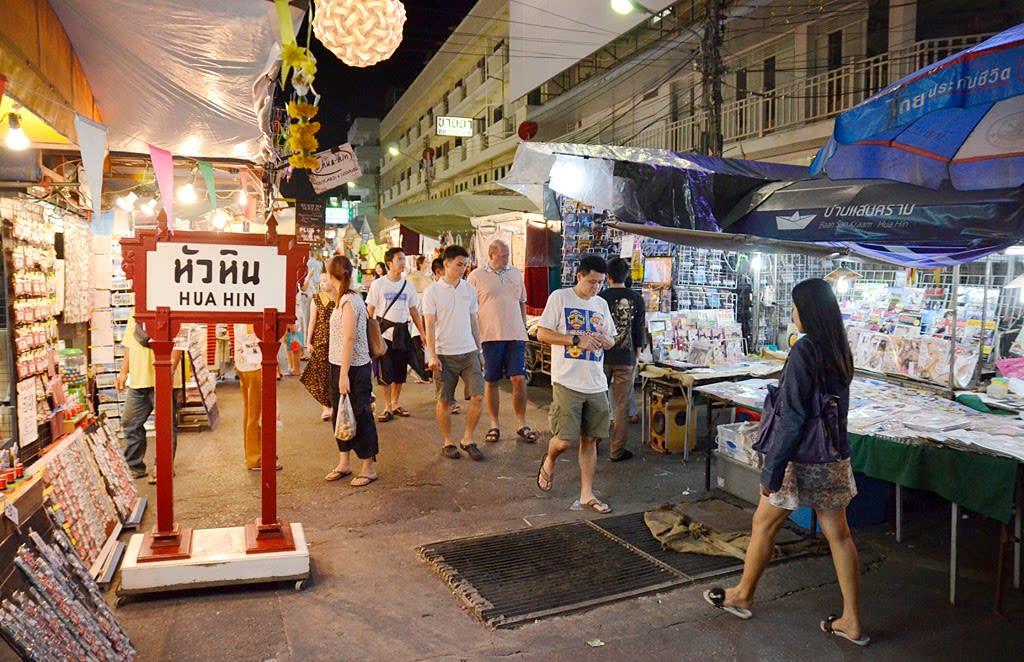 Hua-Hin-Car-Charter-Hua-Hin-Night-Market