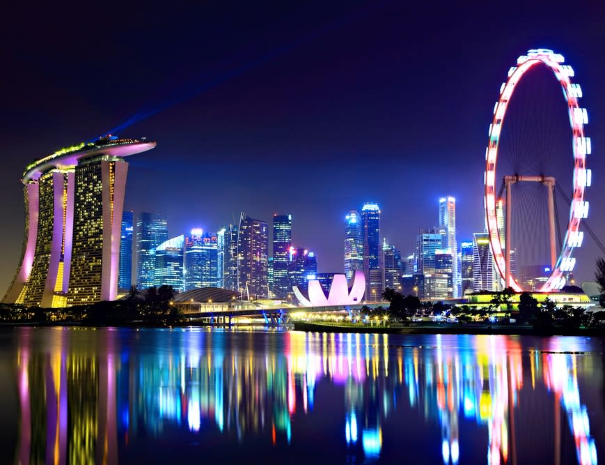 singapore-night-view