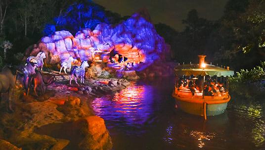 Tokyo Disneyland Jungle Cruise Night