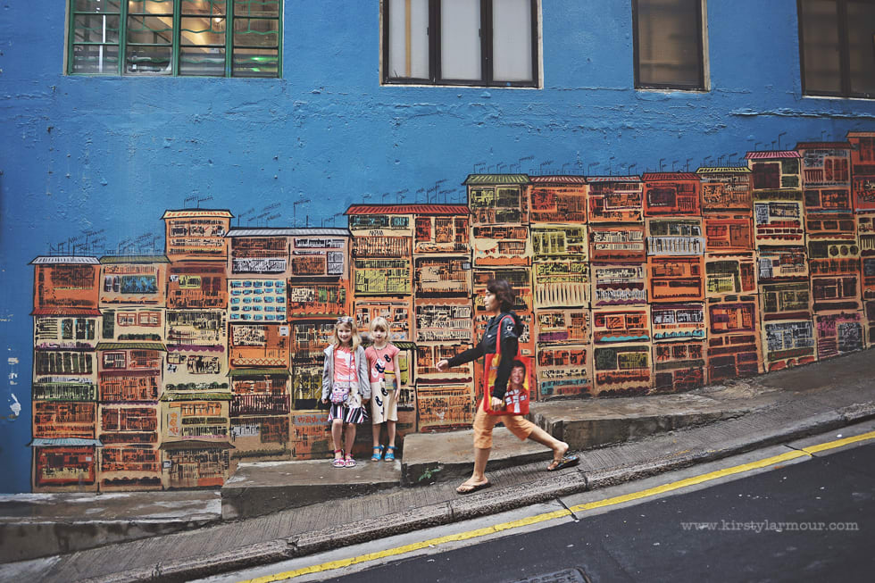 Picture of Hong Kong sidewalk by kirstylarmour