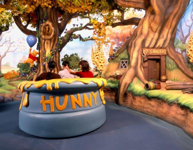 Tokyo Disneyland Pooh's Hunny Hunt