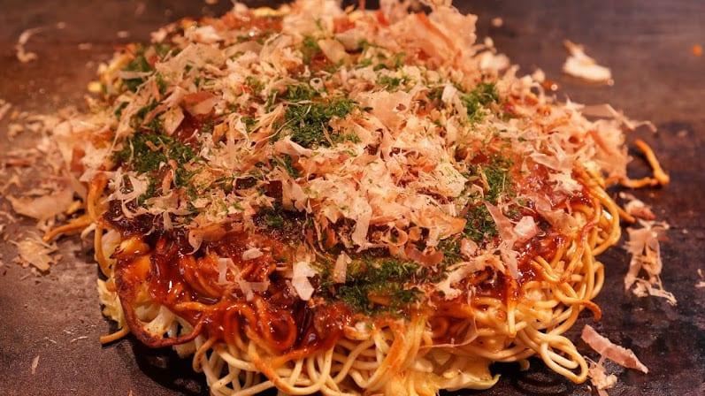 Okonomiyaki at Ajinoya Okonomiyaki