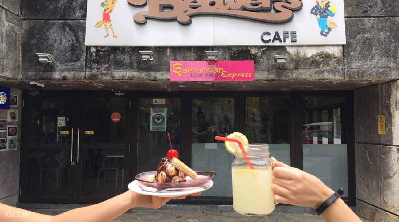 Beaver's Cafe at Universal Studios Singapore
