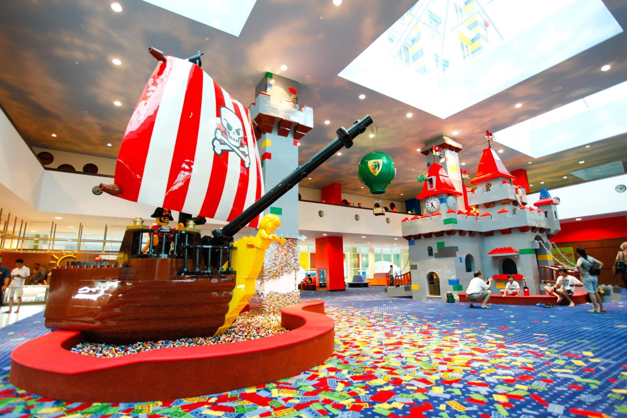 Legoland Hotel Lobby
