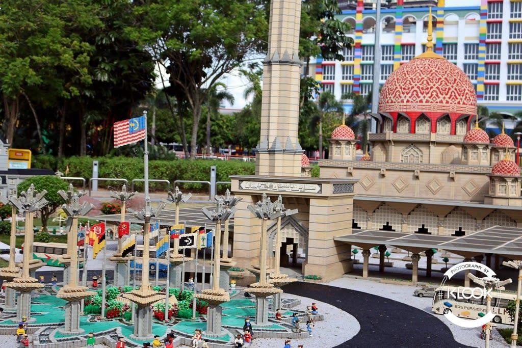 Malaysia area at Miniland