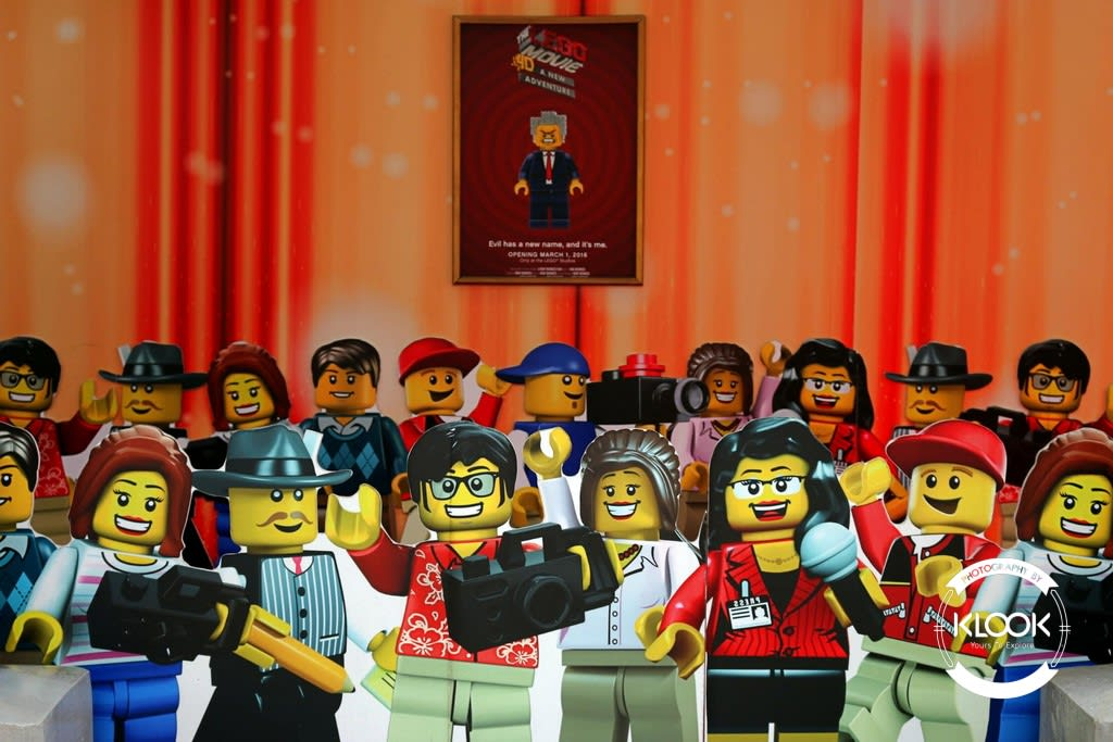 Lego 4D Movie Adventure Entrance