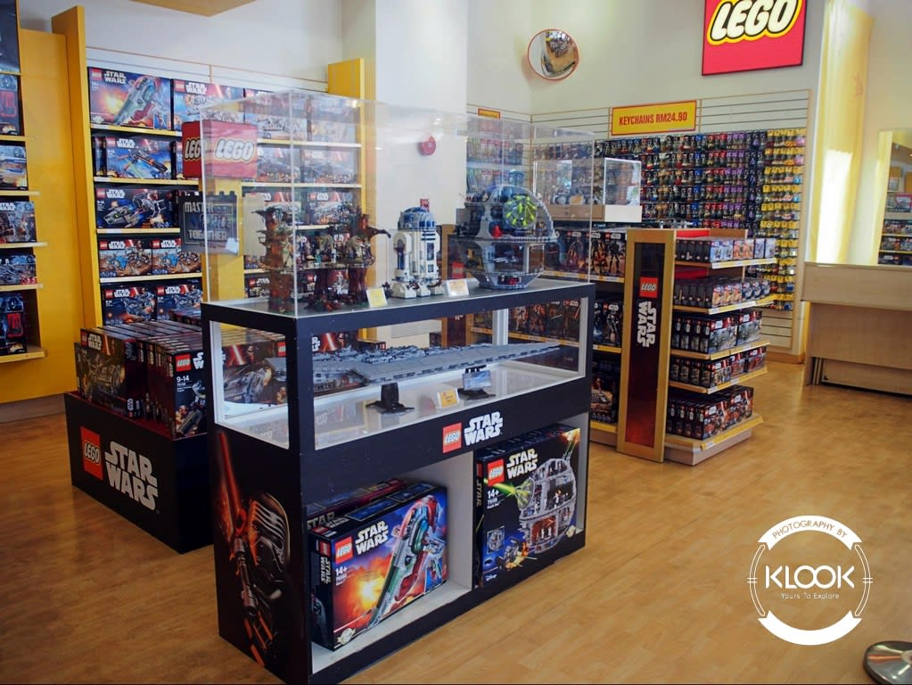 Lego Merchandise at The BIG Shop