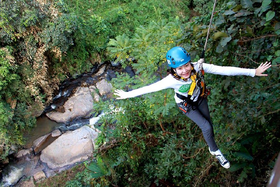 Chiang mai Zipline