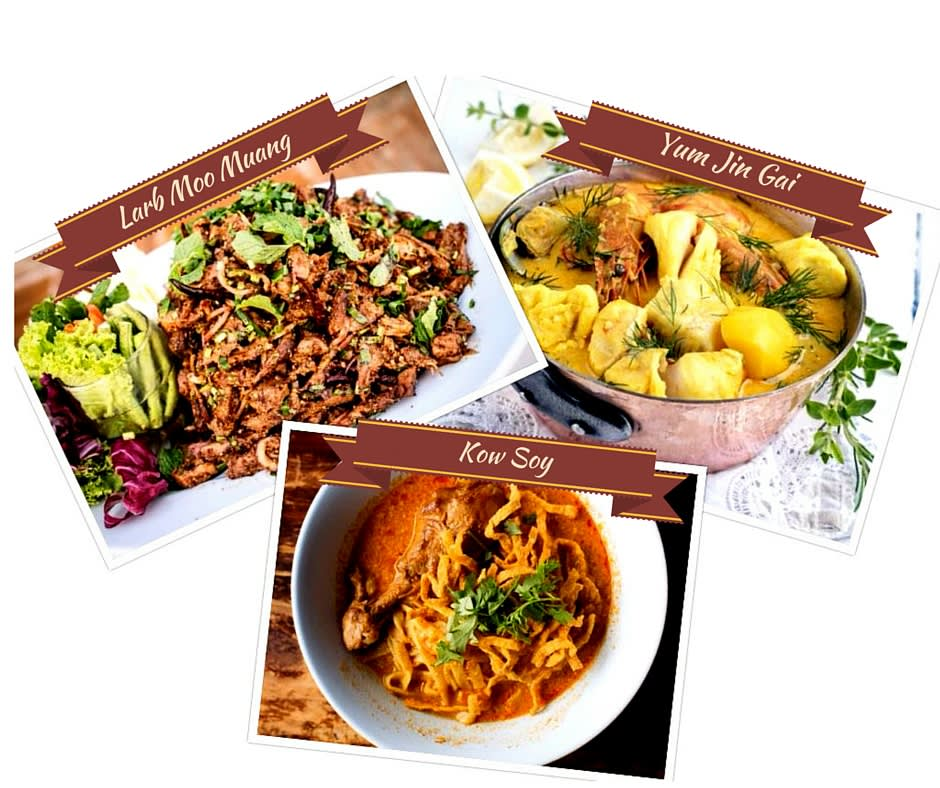 northern thai cuisine, northern thai food, thai cuisine, traditional thai cuisine