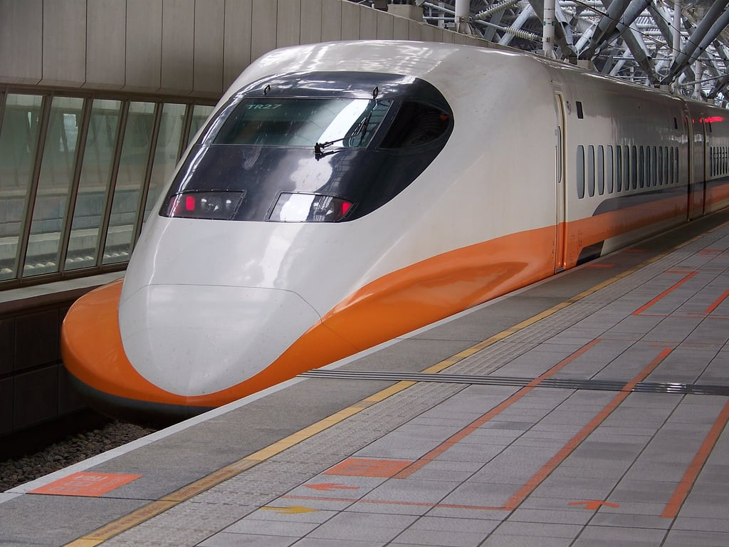 Taichung high speed railway