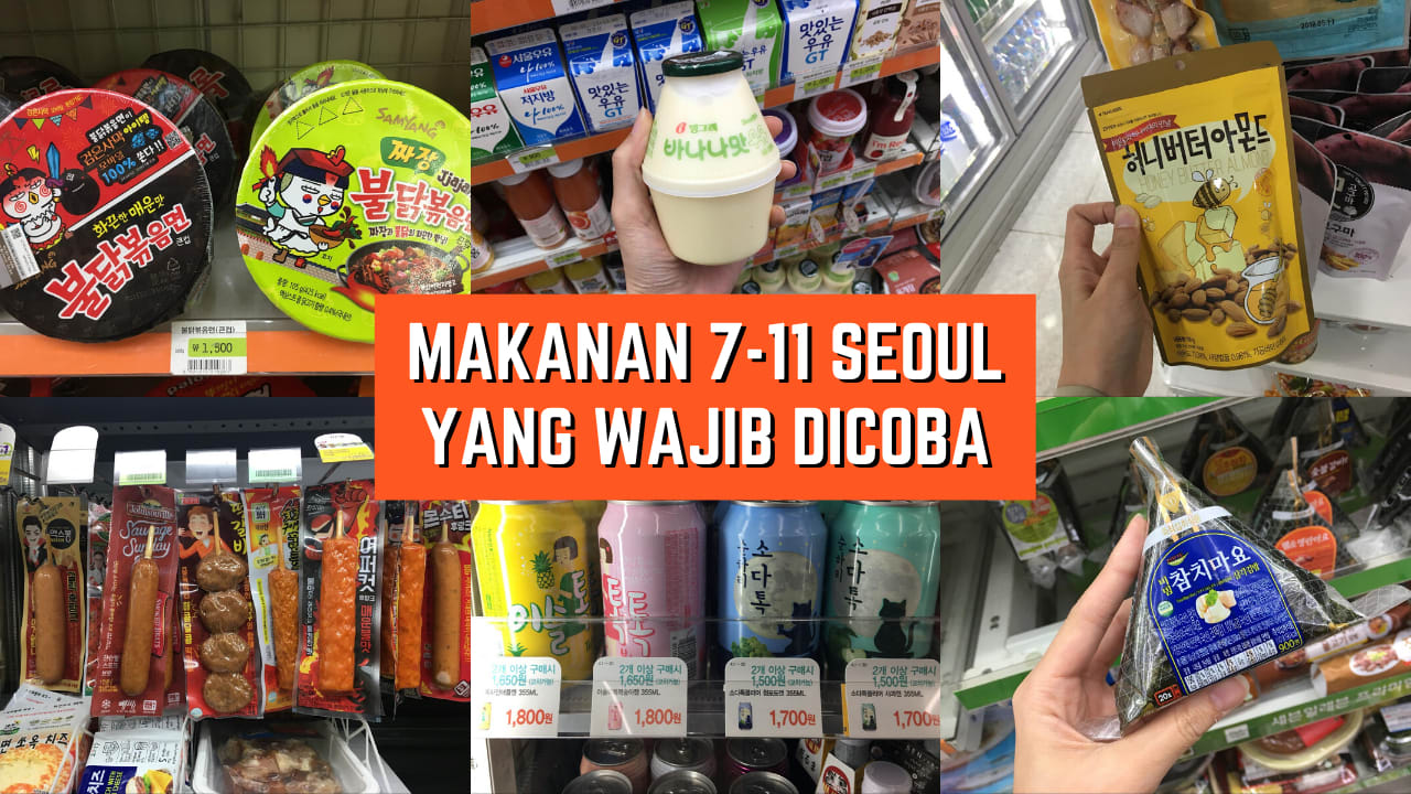 Makanan 7 11 Seoul
