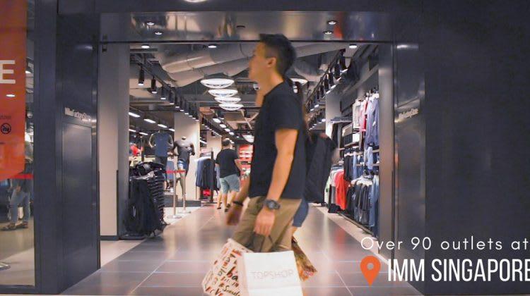 belanja hemat di IMM Singapura