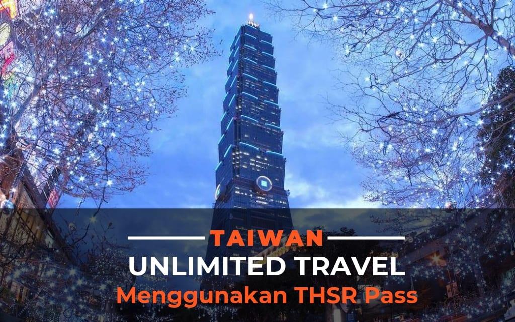 Menggunakan THSR Pass