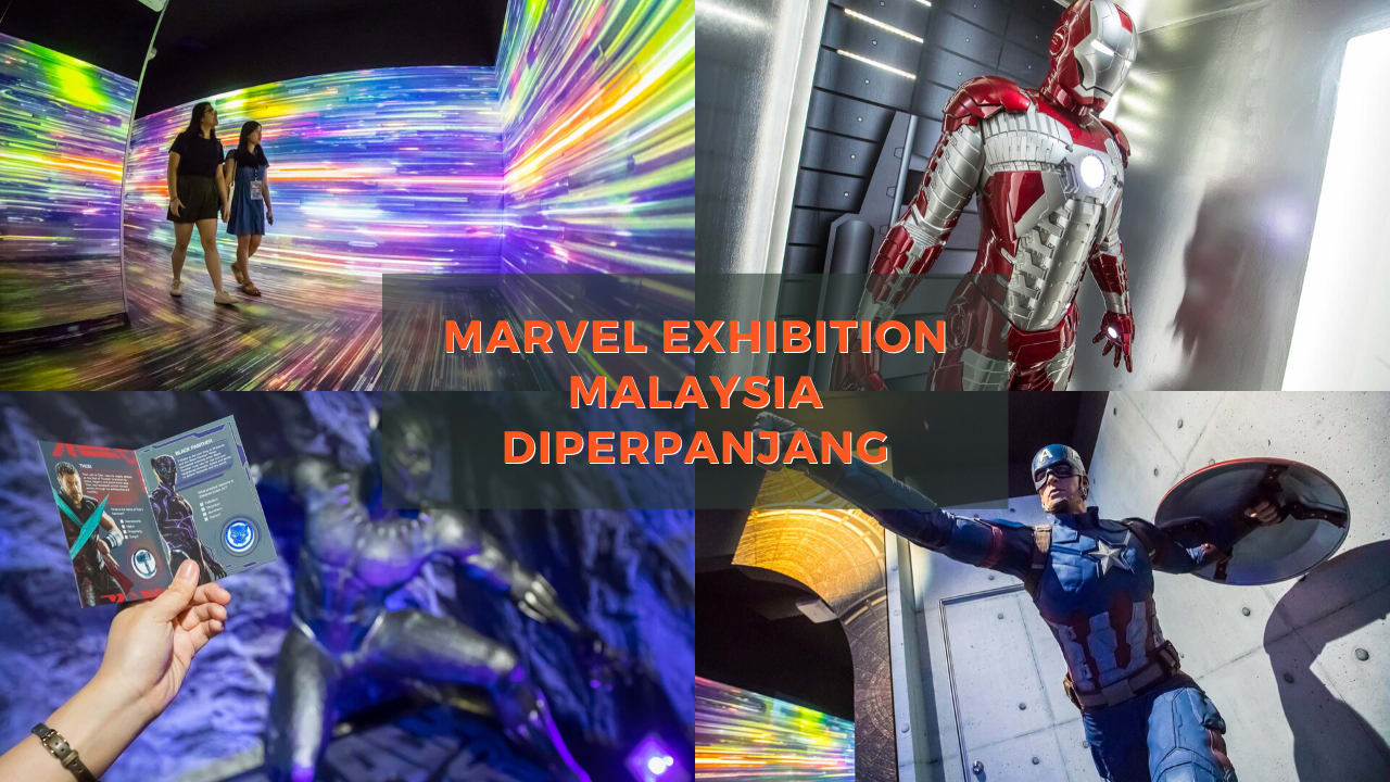 Cover Marvel Exhibition Malaysia Social