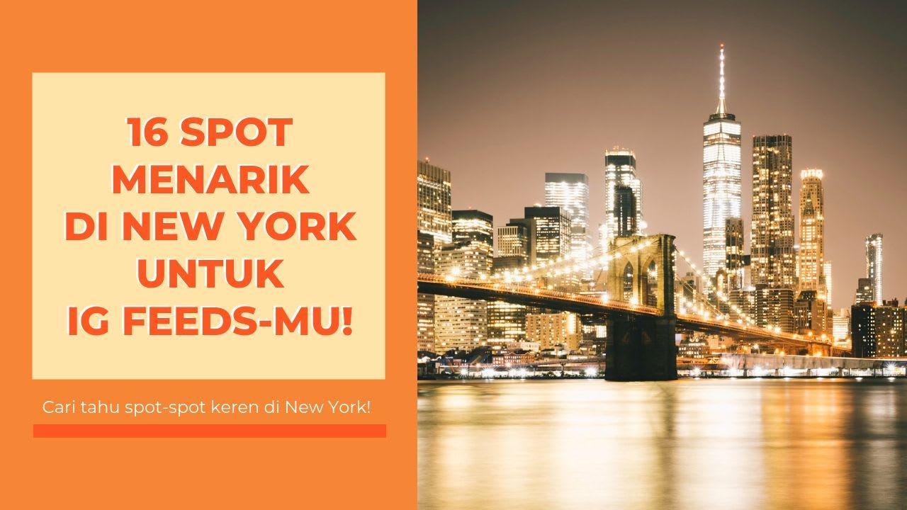 Spot Menarik di New York Blog Cover 1