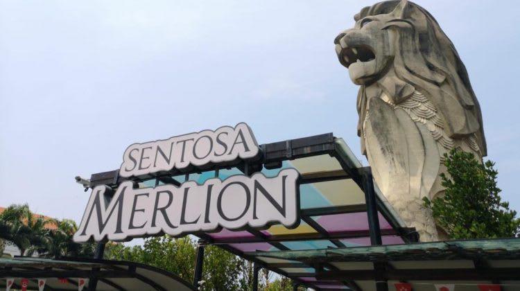 Merlion Sentosa Singapura