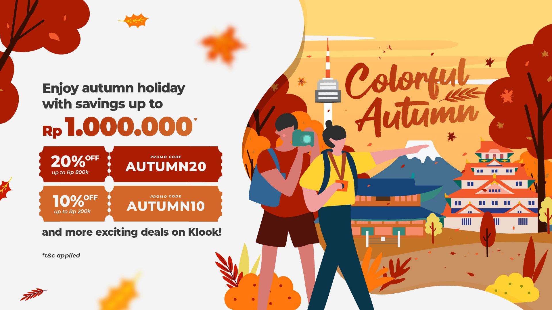 Promo Colorful Autumn