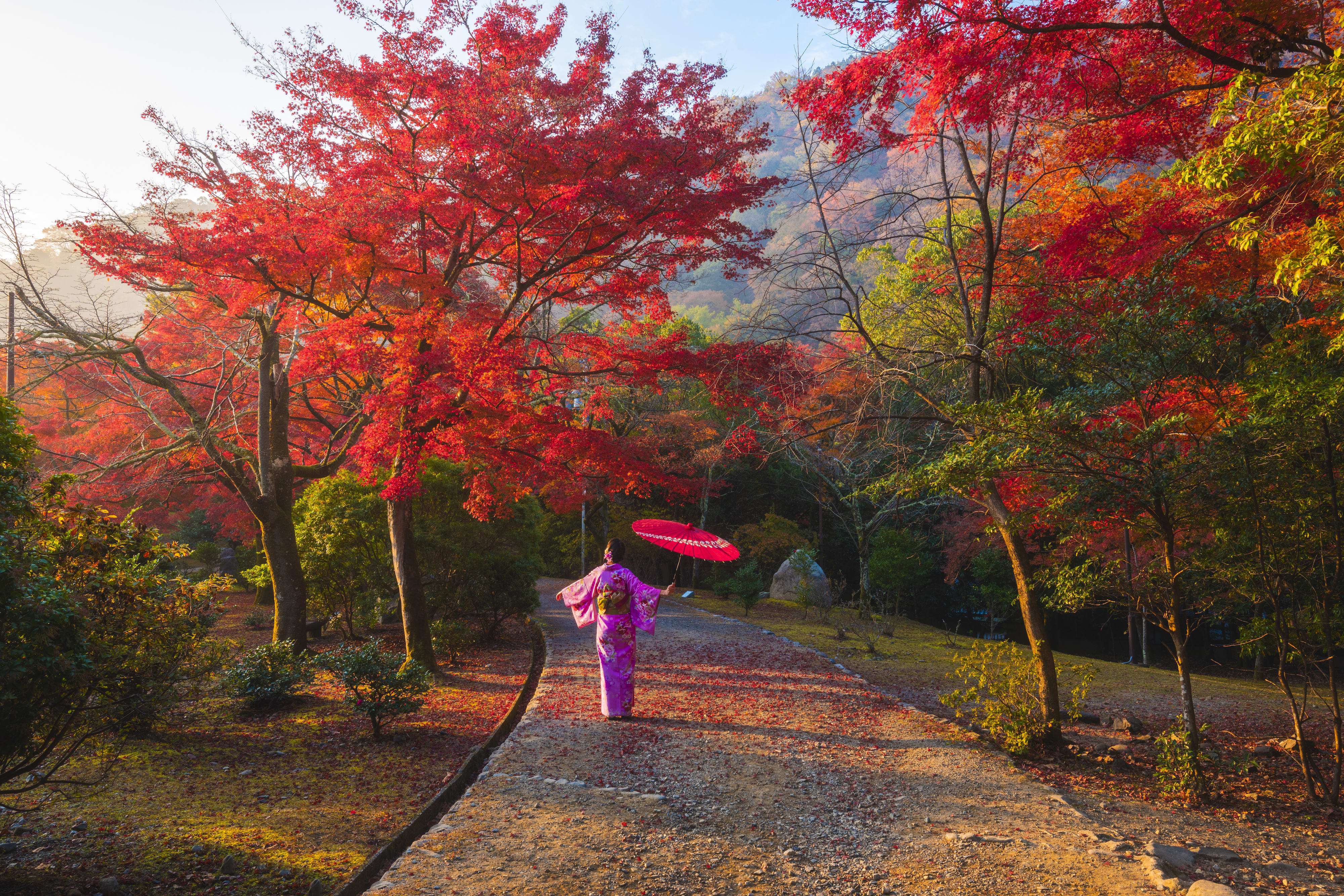 Musim Gugur di Jepang - Arashiyama Kyoto