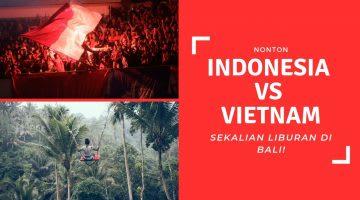 Indonesia vs Vietnam di Bali