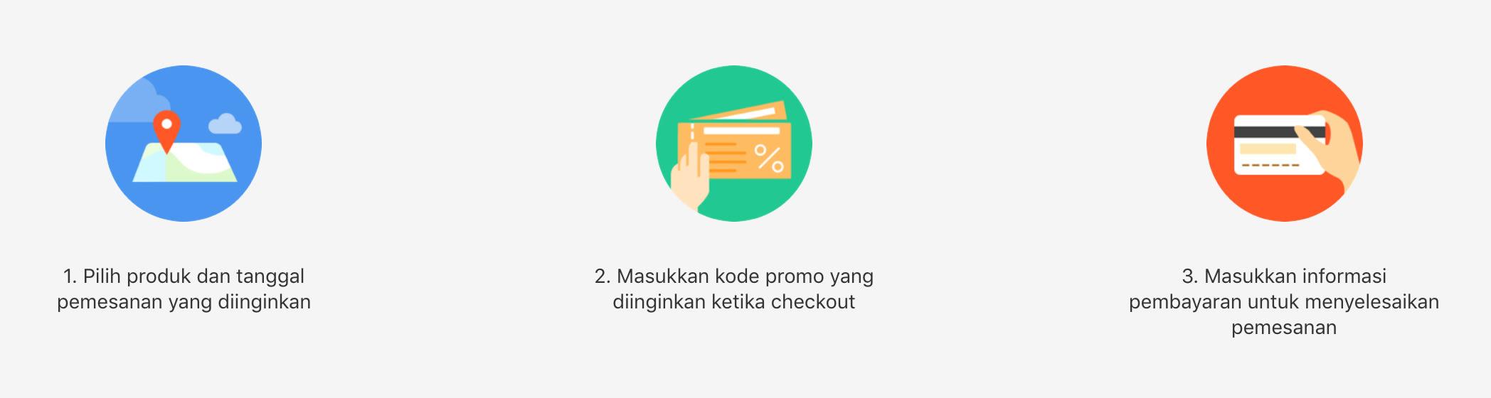 Cara Menggunakan Promo Klook