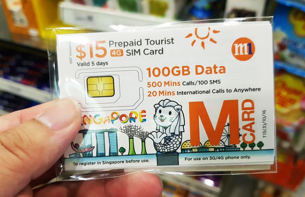 Sim Card Singapura Klook