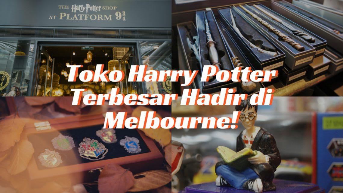 Toko Harry Potter Terbesar di Melbourne