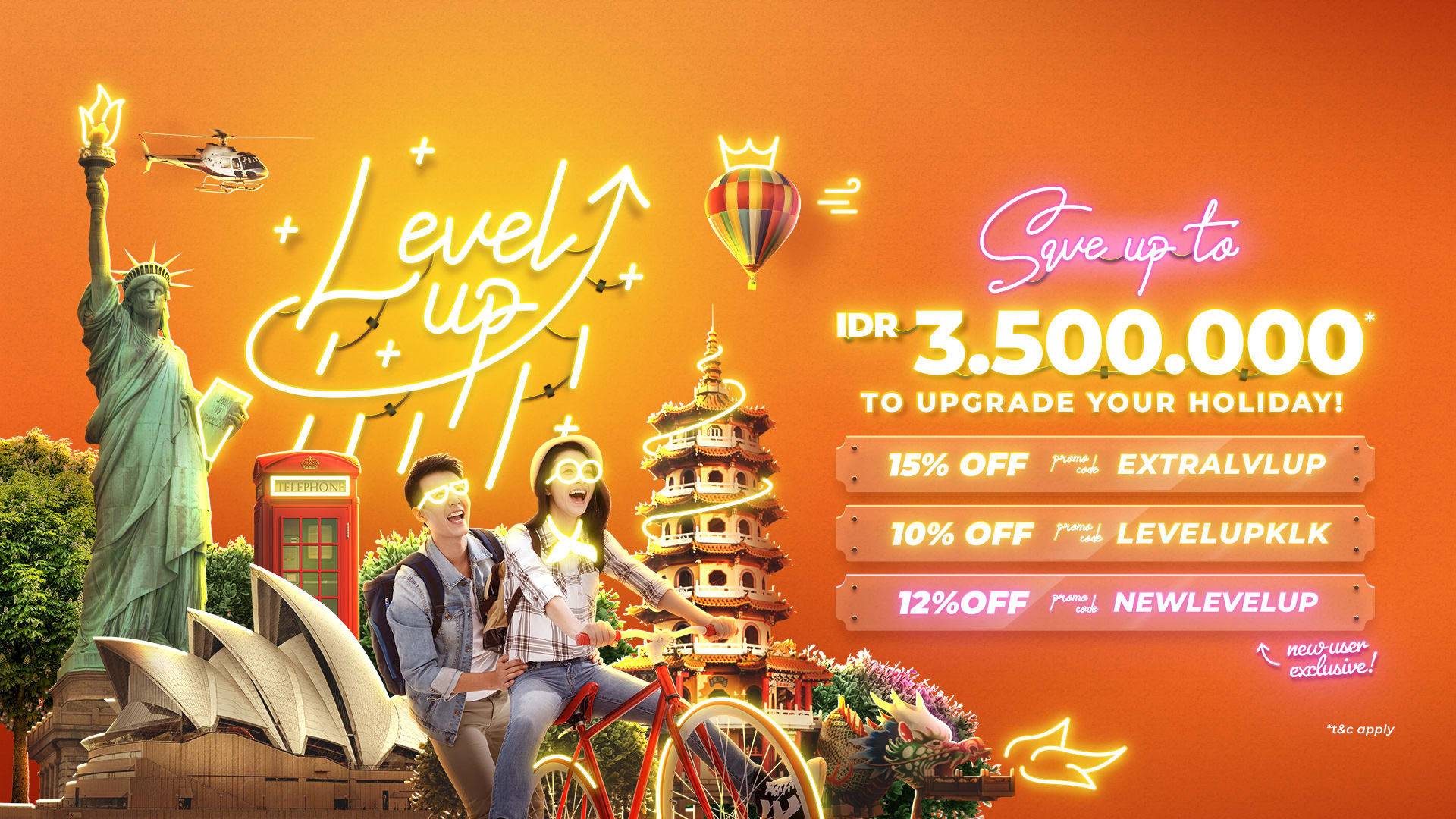 Kode Promo Klook Level Up Your Holiday