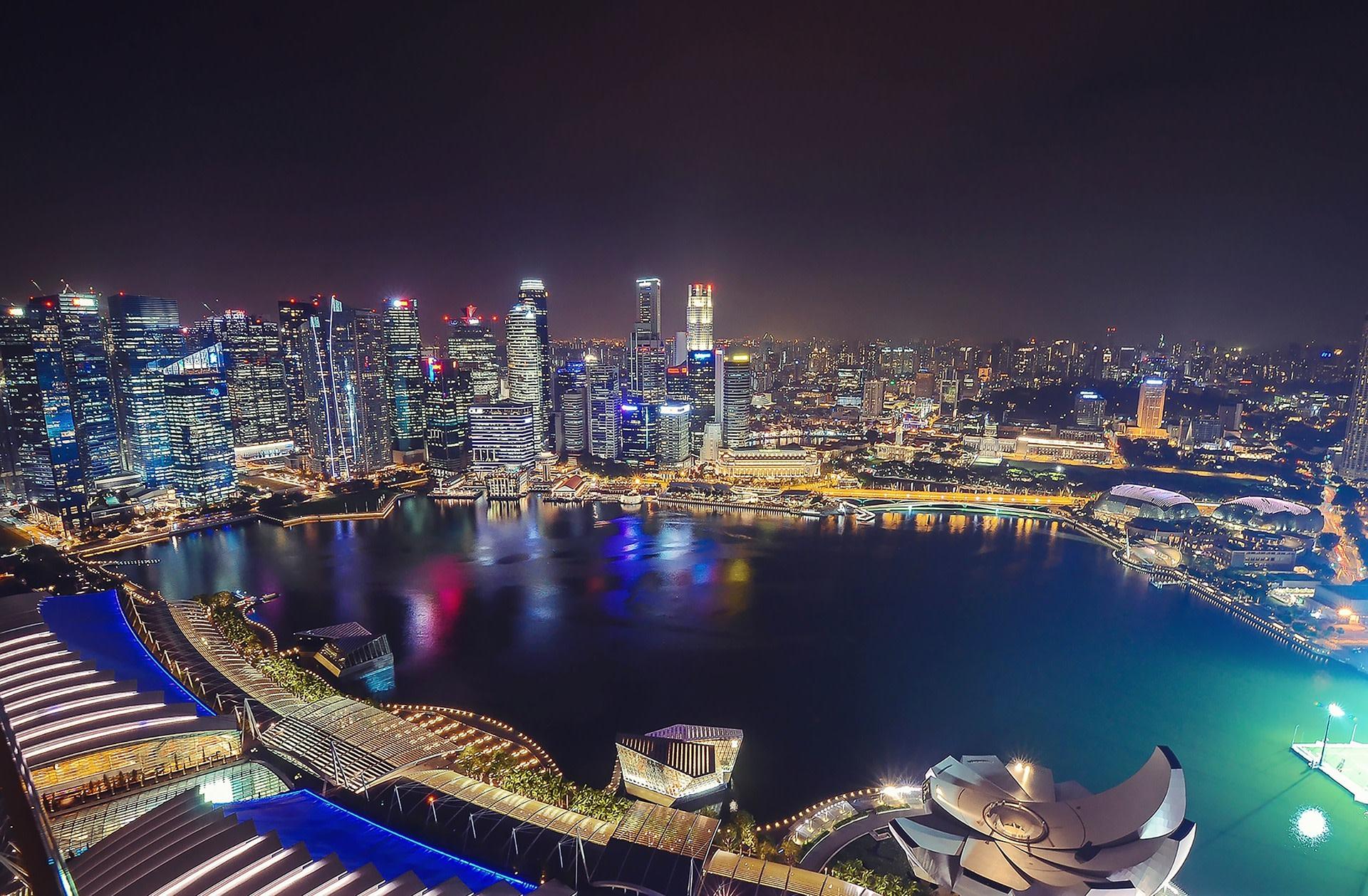 Singapura dari Atas