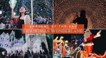 Gardens by the Bay - Christmas Wonderland